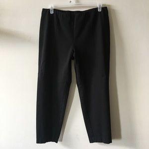 J Jill slim leg black stretch pants petite XL